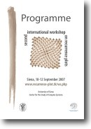 Cover of the programme